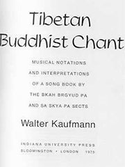 Buddhist Chant