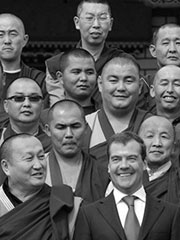 Medvedev and buddhists