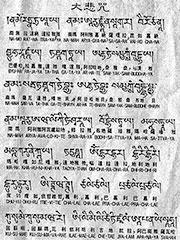 The Maha Karuna Dharani Sutra