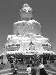 The big Buddha temple Phuket