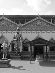 Wat Chaiya Mangkalaram Burmah Lane