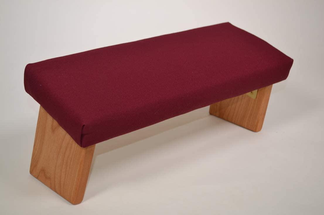 Ananda Woodworking Folding Meditation Bench