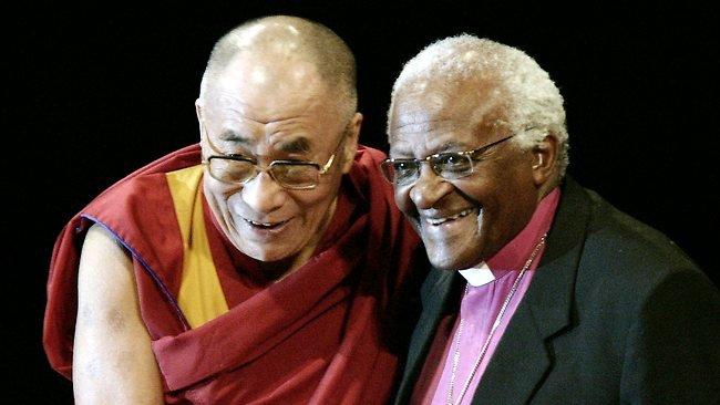 Dalai Lama and Desmond Tutu