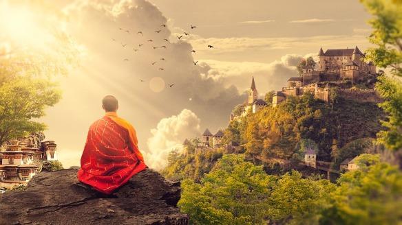 "Buddha's ""middle way"""